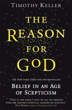 Buy The Reason for God by Timothy Keller at Mighty Ape NZ. As the pastor of an inner-city church in New York City, Timothy Keller has compiled a list of the most frequently voiced doubts sceptics bring to hi. Tim Keller, Timothy Keller, Christian Apologetics, Bible Text, Billy Graham, Seasons Of Life, Know The Truth, Writing Resources, Thrillers