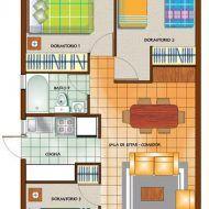 Casa pequeña planos en 2020 Casas madera modernas Hacer