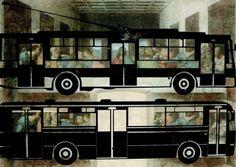 marko blazo - posledny autobus (2012) Vehicles, Art, Art Background, Kunst, Car, Performing Arts, Art Education Resources, Vehicle, Tools