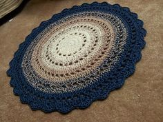 Crochet Rug....Free Pattern! // LOVE THIS ONE!!! A