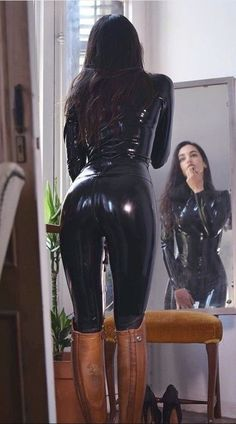 join me in my adventure into all things Femme and Fetish Latex Wear, Sexy Latex, Fetish Fashion, Latex Fashion, Women's Fashion, Leather Riding Boots, Leather Pants, Black Leather, Latex Costumes