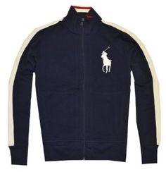 Polo Ralph Lauren Men Full-Zip Big Pony Logo Track Jacket $89.99 - $99.99