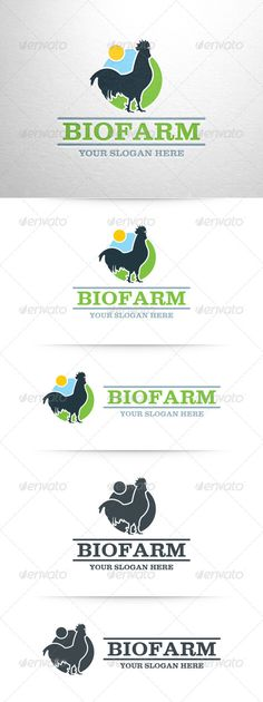 Bio Farm Logo Template