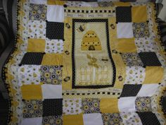 Spring Bumble Bee Lap Quilt