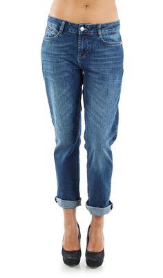 Blugi Boyfriend SuperJeans of Sweden - Mid Wash Superblue Sweden, Boyfriend, Skinny Jeans, How To Wear, Pants, Fashion, Trouser Pants, Moda, Fashion Styles