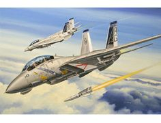 The Hobby Boss Grumman F-14B Tomcat Model Kit in 1/72 scale from the plastic aircraft model kits range accurately recreates the real life US Navy fighter aircraft. This Hobby Boss aircraft model requires paint and glue to complete.