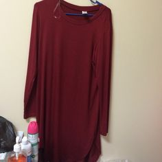 NWOT DRESS Never worn. Slits on the side. Price is firm. Dresses Long Sleeve
