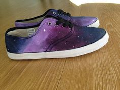 FVSHION NOMAD: DIY: GALAXY SHOES