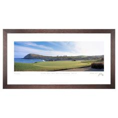 Stonehouse Framed Prestige Edition Wall Art -- Famous Golf Courses - CABOD17P