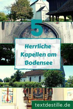 Im Artikel zeige ich euch fünf schöne Kapellen rund um den Bodensee. In Konstanz, Überlingen, auf der Höri und in Tettnang. #textdestille Blog, Hostel, Konstanz, Pilgrims, Blogging