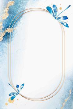 Dragonfly Wallpaper, Flower Background Wallpaper, Beige Background, Flower Backgrounds, Watercolor Background, Background Patterns, Frame Background, Phone Wallpaper Images, Framed Wallpaper
