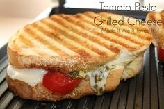 Made It. Ate It. Loved It.: Tomato Pesto Grilled Cheese