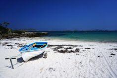 beach tresco island england shutterstock_489593701