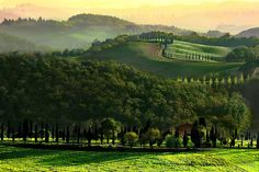 Val d'Orcia, Tuscany (by Graziano Ottini)