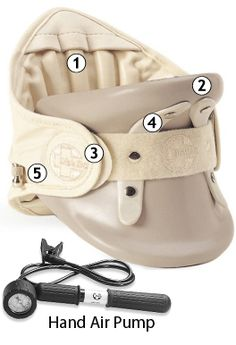 Disk Dr. neck traction device recommended for neck pain relief, herniated cervical disc, neck traction therapy, neck treatment, radiculopathy