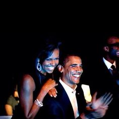 My President and his beautiful wife!