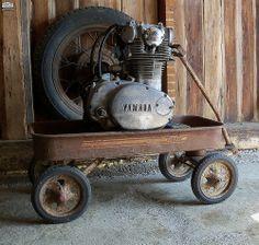 Classics Never Go Out Of Style http://goodhal.blogspot.com/2013/03/moto-photo-085.html #Engine #Wagon #Yamaha