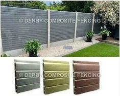 Concrete Posts, Concrete Fence, Fence Paint Colours, Wooden Fence Panels, Composite Fencing, See Videos, Future House, Garden Design