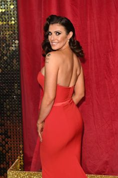 Kym Marsh, Soap Awards, Coronation Street, Celebs, Actresses, London, Formal Dresses, March, Models