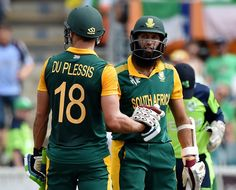 South Africa beat Ireland by 201 runs in cricket world cup 2015. 1st team to score 400+ runs twice in a world cup. Amla scored fastest 20 centuries in ODI...