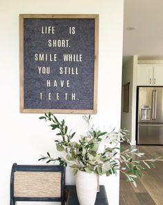 I shared the Letterboard I made on my IG Stories this morning. I found some gold letters so now you can actually read it! Word Board, Quote Board, Message Board, Felt Letter Board, Felt Letters, Felt Boards, Quotable Quotes, Me Quotes, Funny Quotes