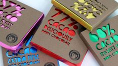 29 Tempting Chocolate Packages - From Sweet Stripped Branding to Delicious Postcard Packaging (CLUSTER) Candy Packaging, Chocolate Packaging, Pretty Packaging, Coffee Packaging, Bottle Packaging, Chocolate Company, Chocolate Brands, Chocolate Factory, Cocoa