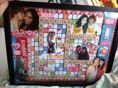 Romantic Scrapbook Gift Idea for Boyfriend.
