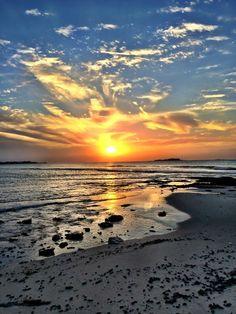 Beautiful sunset from the Bahamas. Bahamas Vacation, Vacation Trips, Family Vacations, Sandals Beach Resort, Sandals Honeymoon, Beautiful Sunset, Beautiful Places, Beautiful Scenery, Beach Resorts