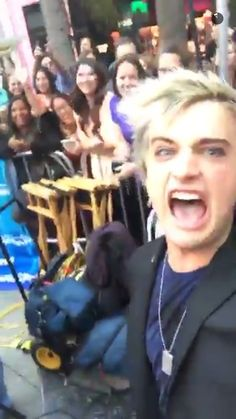 Idiot mocking the fans