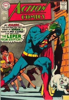 Portada del Action Comics nº 363 por Neal Adams (1968)