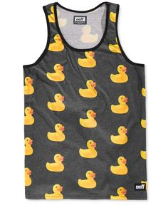 b3c3e2ce8c Neff Men's Rubber Ducky-Print Tank & Reviews - T-Shirts - Men - Macy's