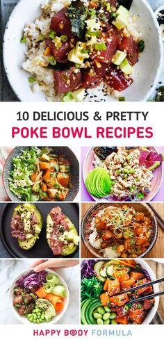 10 Delicious & Pretty Poke Bowl Recipes
