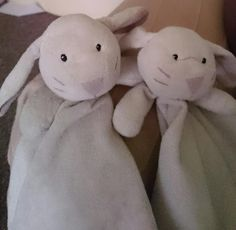 Lost on 30 Aug. 2015 @ WF17 9DT. 2x White Comfort Blanket Bunnies. One has hand-sewn owl ribbon tag on corner. Possibly lost in Toys R Us at Birstall Shopping Park, my daughter has told us she put them down on a shelf but weren't ... Visit: https://whiteboomerang.com/lostteddy/msg/m4uf4q (Posted by Sarah on 30 Aug. 2015)