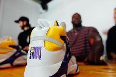 7bb631dd569 Sneaker Politics   Reebok Launch an LSU Colorway of the Shaq Attaq