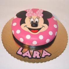 Minnie Bolinhas   3D   bolo disney   Grãos de Açúcar - Bolos decorados - Cake Design