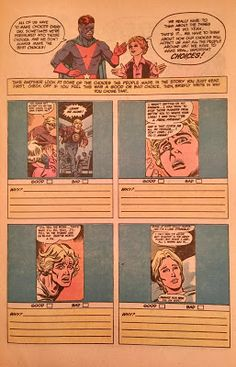 Chris is on Infinite Earths: New Teen Titans Drug Awareness Special #3 (1983)