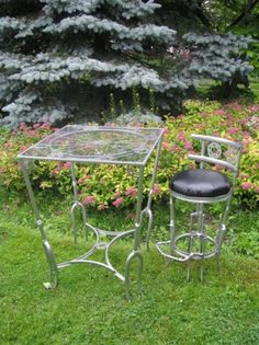Bar Stools - bicycle parts - the recycler