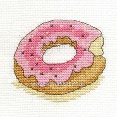 Doughnut Cross Stitch Kit