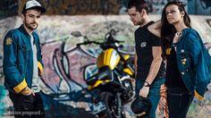 Séance corporate pour DUCATI Toulon avec un Scrambler dans un skate park