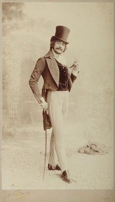 Man in Top Hat, Paris