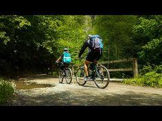 Plimbare cu bicicletele la Băile Olănești | Drumeție pe două roți | ARDAtotal - YouTube Kanken Backpack, Hiking Trails, Golf Bags, Backpacks, Youtube, Instagram, Backpack, Youtubers, Backpacker