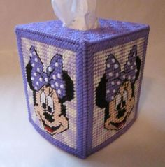 disney plastic canvas | RESERVED for VIRGINIA: 4 Disney tissue box covers