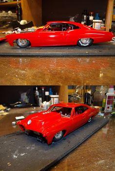 67 Chevy Impala race car