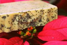 Organic Soap Sweet Orange Poppy - enter today