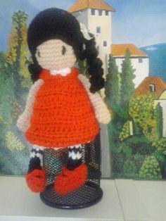 Muñeca Gorjuss crochet
