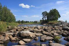 Malkakoski rapids in Ylistaro, Seinäjoki.