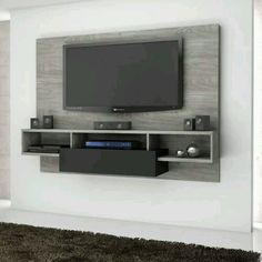 TV Wall Mount Ideas To Create Perfect View Of Your Decor 50 Cool TV Stand Designs for Your Home tv stand ideas diy, tv stand ideas for living room, tv stand ideas bedroom, tv stand ideas black, Home Tv Stand, Diy Tv Stand, Wall Tv Stand, Ikea Tv Stand, Bedroom Tv Stand, Tv In Bedroom, Bedroom Ideas, Corner Tv Stands, Cool Tv Stands