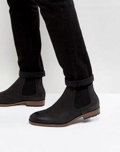 Черные ботинки челси New Look
