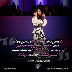 Rivers Of Living Water, Jesus Peace, Empowerment Quotes, Better Day, Praise God, Trust God, Powerful Women, Real Talk, Wisdom Quotes