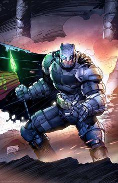 Heroes and Villains, extraordinarycomics: Batman bySaviors Son.